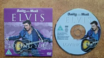 Elvis Presley Loving You (DVD) - Released  by the Daily Mail